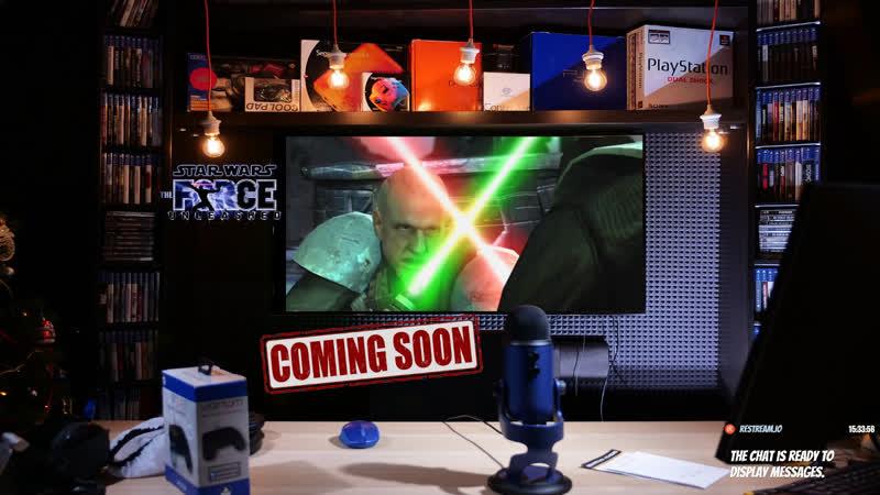 Стримфест 2019 | STAR WARS Force Unleashed | playstationru playstation стримфест2019 StarWars SW ЗВ ЗвездныеВойны