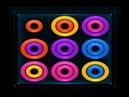 Цветные кольца Color Rings Puzzle играющие игры Прохождение видео 2018 на Wo-