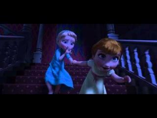 Frozen (Little Elsa and Anna) 1080p HD Scene