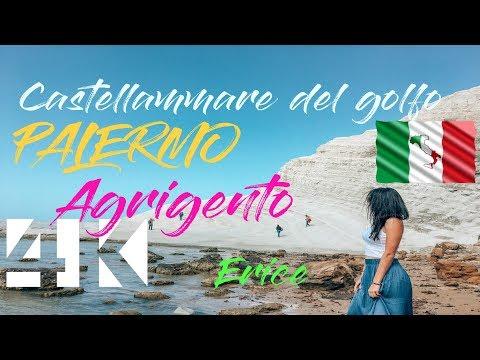 ✈️10 minutes in western Sicily, Palermo Agrigento Castellammare del golfo Erice, RoadTrip (4K1803)