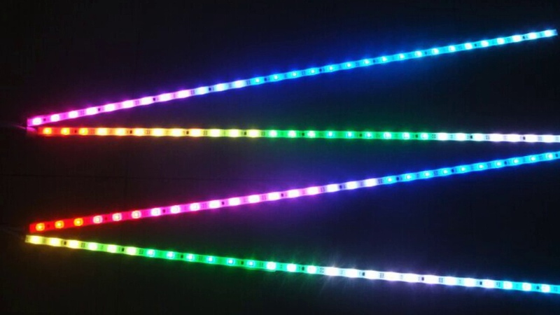Colorchanging Light Bar | Color Changing Rigid RGB LED Strip