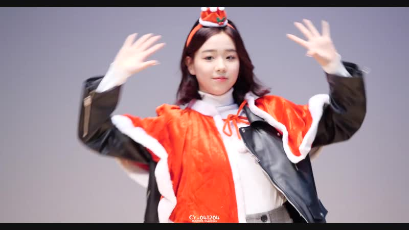 [4K] 181224 버스터즈(Busters) 채연(ChaeYeon) - 포도포도해 @ 크리스마스 기념 스페셜 팬싸인회팬미팅 직캠(Fancam) by CY_041204