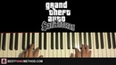HOW TO PLAY - GTA San Andreas Theme Song (Piano Tutorial Lesson)