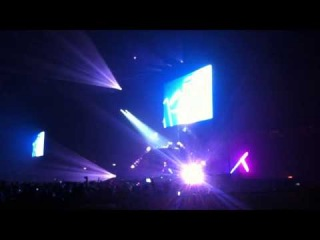 David Guetta Brussels Palais12 New Single Test !!!!