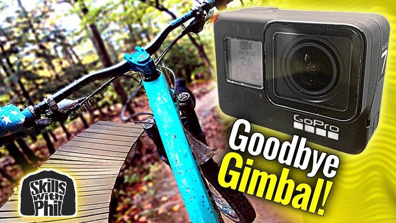 GoPro Hero 7 black review for mountain biking! - Gimbal Killer