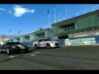 Real racing 3 Mount Panorama Nissan GTR гонка на трассе Mount Panorama