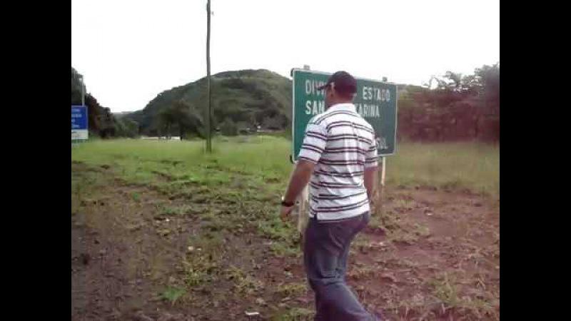 Divisa de Santa Catarina com o Rio Grande do Sul