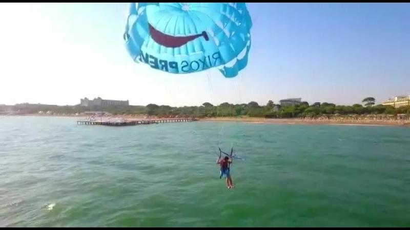 Ернар Айдар - Анталияға парашютпен түсті😂