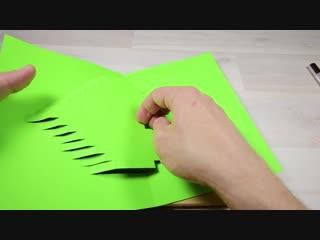 ОТКРЫТКА - СЕРДЦЕ своими руками Как сделать объемную 3D открытку для мамы на 8 МАРТА Супер идея