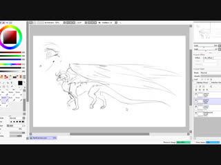 рисуем драконьи пенисы