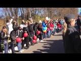 Эстафета олимпийского огня в Ясной Поляне