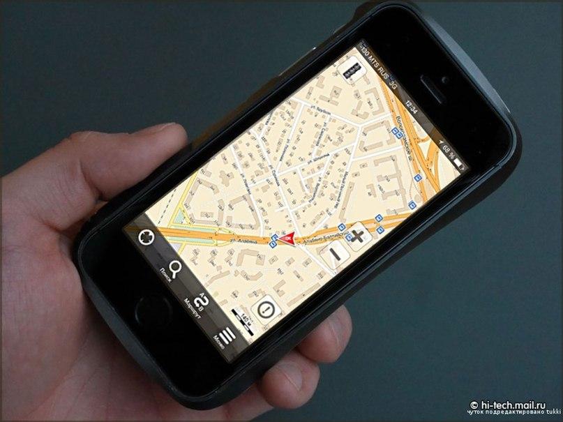 Яндекс-карте на смартфоне всё равно