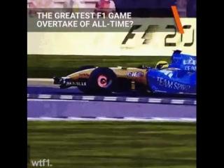 Лучший обгон за всю историю Формулы-1