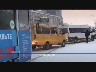 Выпавший снег спровоцировал десятки ДТП и большие заторы на дорогах Улан-Удэ