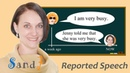 Indirect (Reported) Speech -rules and examples- (English Grammar)