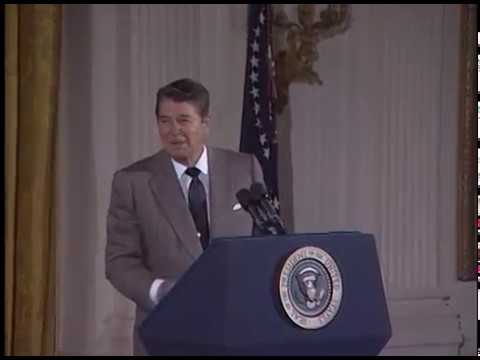 Compilation of President Reagans Humor from Selected Speeches, 1981-89