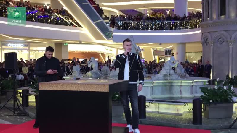 Звезда Акинфеева появилась на аллее чемпионов в Москве