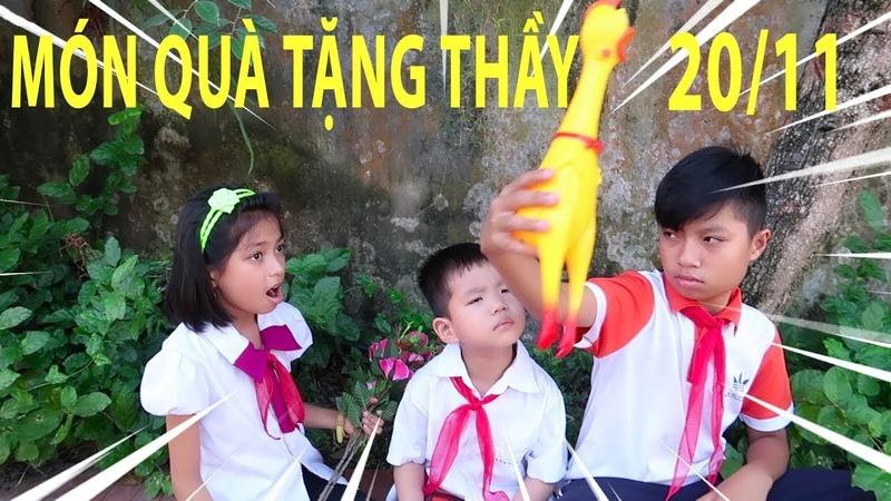 Món quà tặng thầy nhân ngày nhà giáo Việt Nam 2011 ❤ ABC bé Bi ❤
