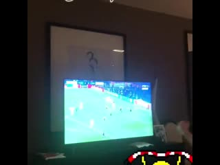 Manchester United - La joie de Matic sur le penalty de Rashford ! #MUFC