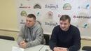 Пресс-конференция С.Горчакова и Н.Яровича ( Волга - Водник 2-4, 25.12.2018)