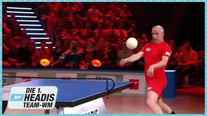 Vorrunde Kai Pflaume Headsinfarkt vs Mario Basler Sniper Schorsch Headis Team WM