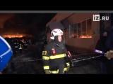 Пожар на прогулочном корабле на Нагатинской набережной