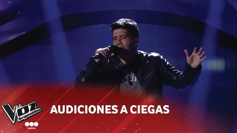 Marcelo Ponce - Solamente tú - Pablo Alborán - La Voz Argentina 2018