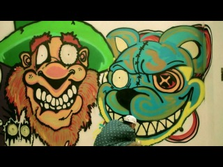 WEBISODE: Chris Brown x Michael Farhat - Art Mobb Graffiti Collaboration