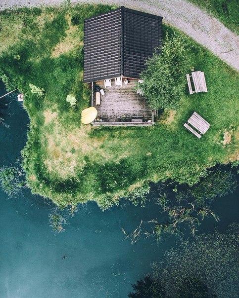 Фотографии Швеции с квадрокоптера поражают!