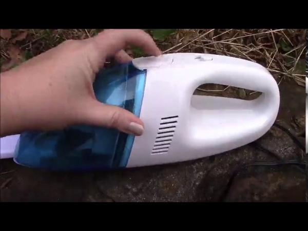 Grikey 12V Mini Portable Car Vehicle Auto Charger Wet Dry Handheld Vacuum Cleaner Review