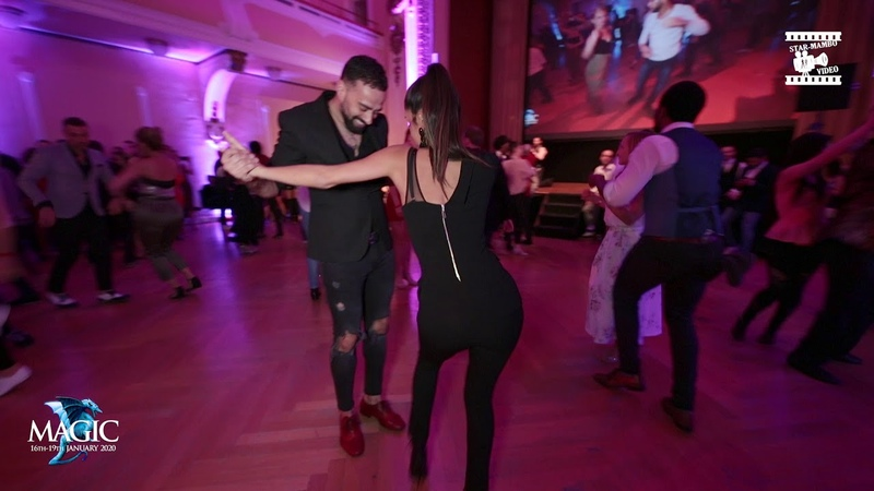 Talal Buşra Aracı - chachacha social dancing @ Magic Slovenian Salsa Festival 2019
