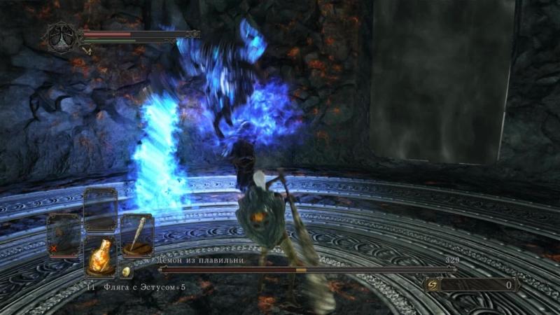 Dark Souls 2 SotFS, Champion's Covenant, SL 1 (Smelter Demon)
