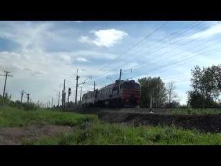 ДМ62-1776 с автомотрисой АМД3, перегон Лудзя-Ижевск