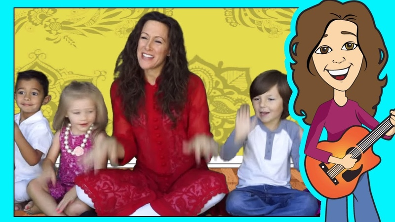 Shake and Move Childrens song Body Parts Patty Shukla