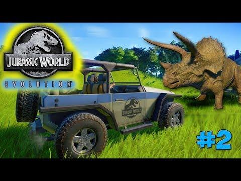 Jurassic World Evolution - БЕШЕНЫЙ ДИНО ПРОБИЛ ЗАБОР 2
