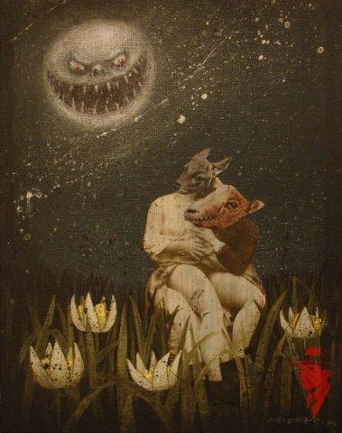 Психоделические картины Майи Мякилы