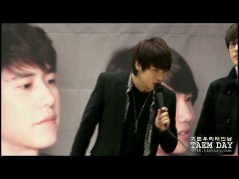 [fancam] 101215 SM the ballad jonghyun @ Busan Fansigning