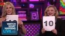 Chloë Grace Moretz And Vicki Gunvalson Rate Vicki Gunvalson's Freakouts RHOC WWHL