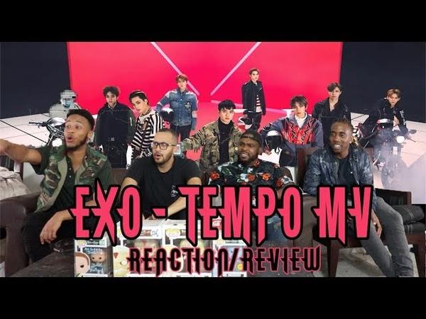 EXO - Tempo MV Reaction/Review