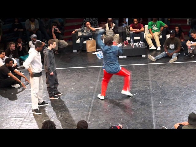 Slowy MistyK1mp Silent School vs Paul Ereck Bouboo Finale Hip Hop Circus Battle 2