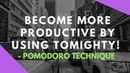 Become more productive by using Tomighty - Pomodoro Technique