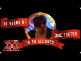 10 Years of The X Factor in 60 Seconds - The X Factor UK 2013