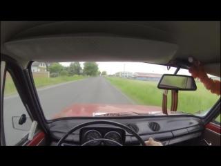 VAZ 2101 (LADA 1200) Driving POV _ GoPro HERO 3 test