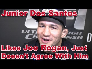 UFC 166's Junior Dos Santos Agrees With Velasquez; Doesn't Agree With Joe Rogan