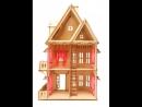 Конструктор Кукольный домик, 76 х 45 х 29 см, арт. ДК-1, Чудо игрушки POLLY