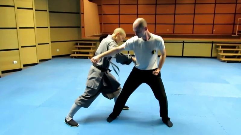Master Shi Heng YI`s Shaolin quan lesson at Xuangui