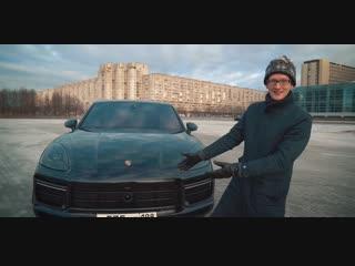 Валит прямо, боком, как угодно, всегда. Porsche Cayenne Turbo.