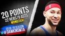 Ben Simmons Full Highlights 2019.01.13 76ers vs Knicks - 20 Pts, 22 Rebs, 9 Asts! | FreeDawkins