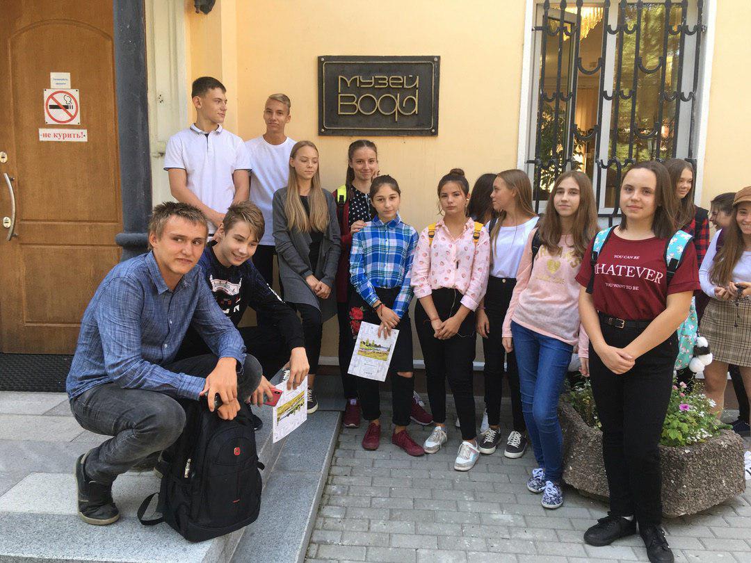 Ученики школы № 1416 Лианозова посетили Музей воды