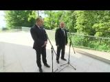 Заявления для прессы по итогам встречи с Президентом Болгарии Руменом Радевым